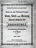 Spurensuche – Annäherungen an die Redoutenmusik des Düsseldorfer Künstlervereins »Malkasten«