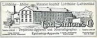 "Archiv des Düsseldorfer Lichtbildateliers ""Carl Simon & Co."", gegründet 1907"