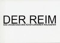 """Krunoslav Stipešević. """"Der Reim. Das Jacobihaus des Künstlervereins Malkasten"""", Künstlerverein Malkasten, Düsseldorf, 19. April – 21. August 2016"""
