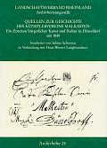 Quellen zur Geschichte des Künstlervereins Malkasten